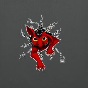 Drachi stuck red weißlogo