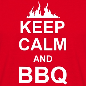 keep calm and BBQ T-Shirts - Männer T-Shirt