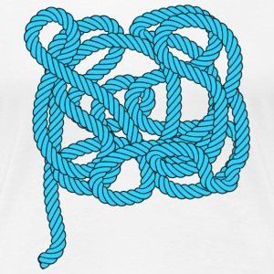 Rope climbing, sailing, fishing, sea, port, sports - Frauen Premium T-Shirt