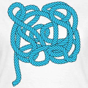Rope climbing, sailing, fishing, sea, port, sports - Frauen T-Shirt