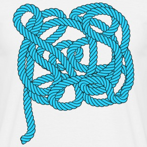 Rope climbing, sailing, fishing, sea, port, sports T-skjorter - T-skjorte for menn
