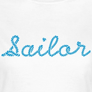 Sailor, Sailing, Skipper, Rope, Sea T-shirts - Vrouwen T-shirt