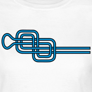 Double Figure Eight Knots, Rock Climbing, Sailing T-shirts - Dame-T-shirt