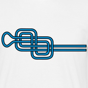 Double Figure Eight Knots, Rock Climbing, Sailing T-shirts - Mannen T-shirt