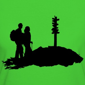 escursioni, hiking - T-shirt ecologica da donna