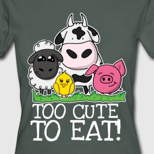 Too cute to eat Damen T-Shirt  - Frauen Bio-T-Shirt