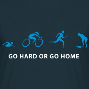 Triathlon GO HARD - Männer T-Shirt