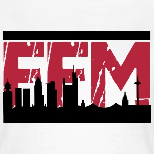 FFM Skyline - Frauen T-Shirt