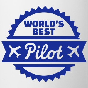 World's best Pilot Flaschen & Tassen - Tasse