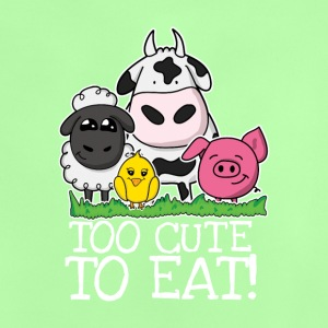 Too cute to eat Kids - Baby T-Shirt
