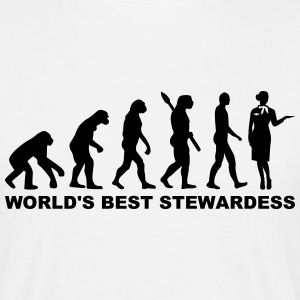 World's best Stewardess T-Shirts - Männer T-Shirt