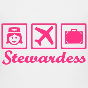 Stewardess T-Shirts - Kinder Premium T-Shirt