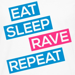 eat sleep rave repeat Langarmshirts - Männer Premium Langarmshirt