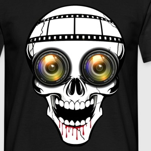 cyber skull Tee shirts - T-shirt Homme