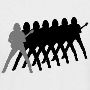guitarist T-Shirts - Men's Baseball T-Shirt