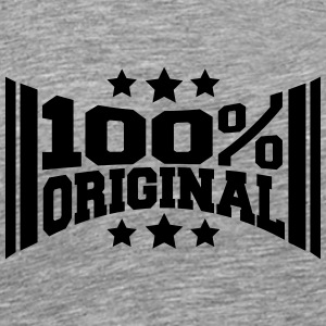 Logo Design 100% Original T-Shirts - Men's Premium T-Shirt