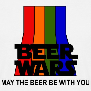 BEER WARS - May the beer be with you Shirt - T-shirt herr
