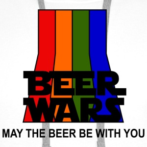 BEER WARS - May the beer be with you Hoodie - Sweat-shirt à capuche Premium pour hommes