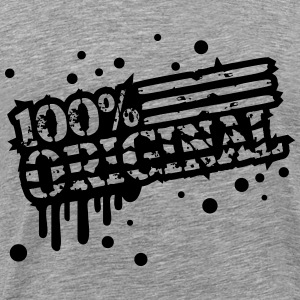 Cool Graffiti Design 100% origineel T-shirts - Mannen Premium T-shirt
