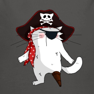 Chat Pirate - Body bébé bio manches longues
