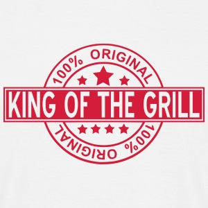 king of the grill T-shirts - Herre-T-shirt