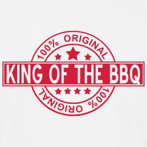 king of the BBQ T-shirts - Mannen T-shirt
