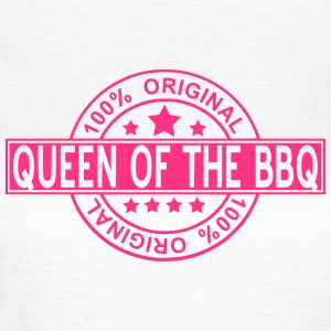 queen of the BBQ T-shirts - Dame-T-shirt