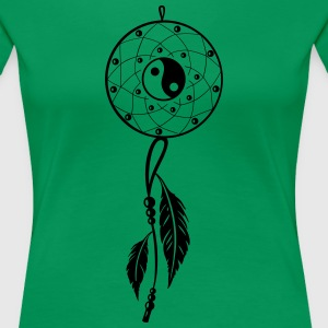 Traumfänger, dreamcatcher, Indianer, indian T-Shirts - Frauen Premium T-Shirt