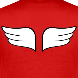 wings vinger T-shirts - Herre premium T-shirt