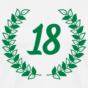 eighteenth birthday artonde födelsedag T-shirts - Premium-T-shirt herr