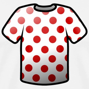 Mountain classification jersey Icon T-Shirts - Men's Premium T-Shirt