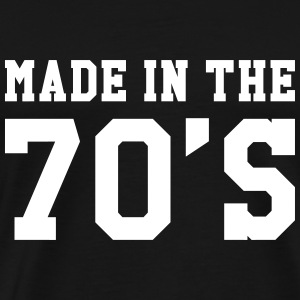 Made in the 70'S T-Shirts - Men's Premium T-Shirt
