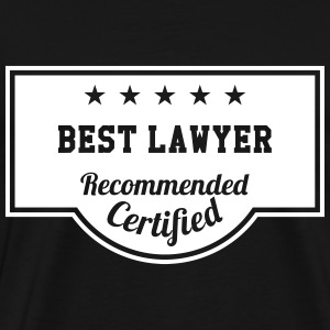 Best Lawyer Tee shirts - T-shirt Premium Homme