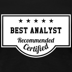 Best Analyst T-skjorter - Premium T-skjorte for kvinner
