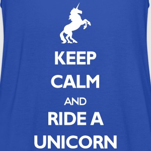 Ride a Unicorn Tops - Frauen Tank Top von Bella