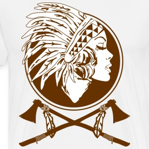 Indian Native American - Men's Premium T-Shirt