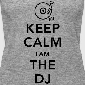 keep calm i am deejay dj Tops - Frauen Premium Tank Top