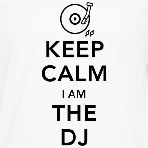 keep calm i am deejay dj Tee shirts manches longues - T-shirt manches longues Premium Homme
