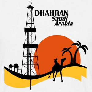 Oil Rig Saudi Arabia Middle East - Men's T-Shirt