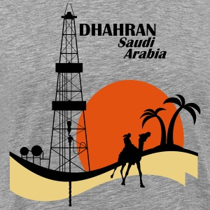Oil Rig Saudi Arabia Middle East - Men's Premium T-Shirt
