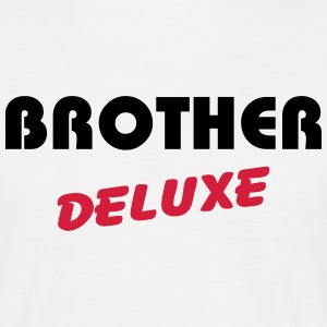 Brother Deluxe T-shirts - Mannen T-shirt