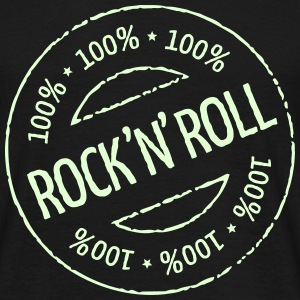 100% Rock 'n' Roll Stamp T-Shirts - Männer T-Shirt