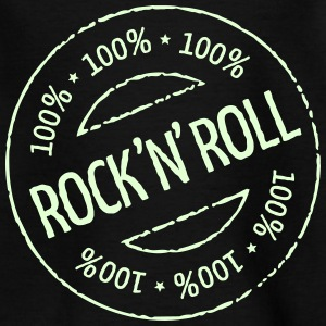 100% Rock 'n' Roll Stamp T-Shirts - Teenager T-Shirt