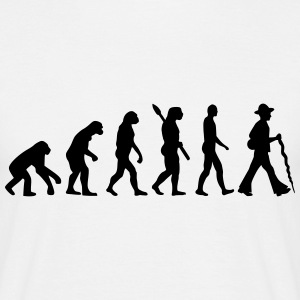 Evolution Zimmermann T-Shirts - Männer T-Shirt
