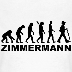 Evolution Zimmermann T-Shirts - Frauen T-Shirt