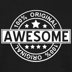 awesome T-shirts - Männer T-Shirt