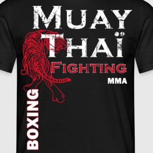 muay thai boxing mma.png Tee shirts - T-shirt Homme