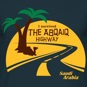 Saudi Arabia Highway Middle East - Men's T-Shirt