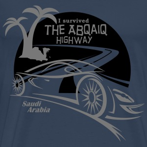 Saudi Arabia Highway Middle East - Men's Premium T-Shirt