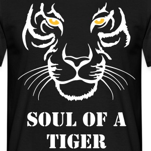 Soul of a tiger - Männer T-Shirt